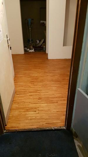 Dubová podlaha – kantky