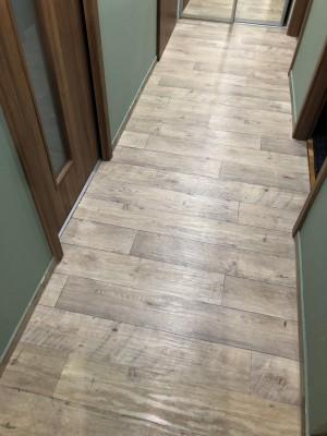 Stávající PVC podlaha