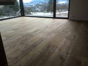 Dřevěná podlaha a podlahové topení